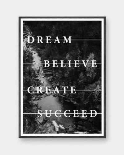 believe-plakat-produktbillede