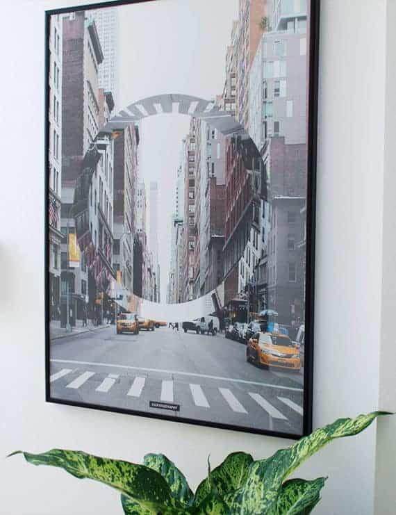 New York City by plakat