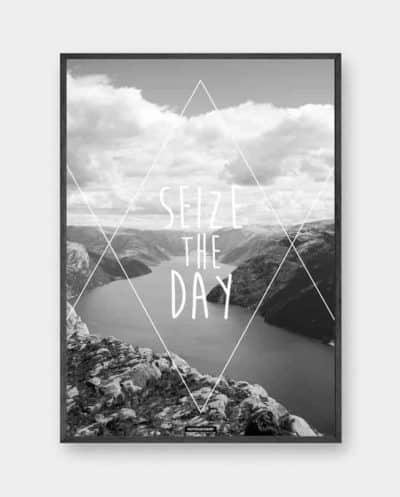 seize-the-day-plakat-produktbillede