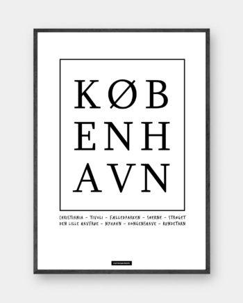 typografisk plakat København