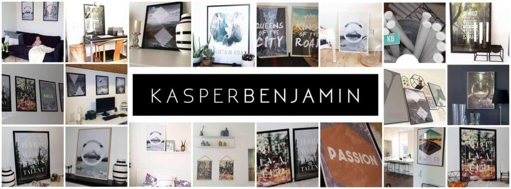 KASPERBENJAMIN: Køb nordiske plakater og flotte rammer online