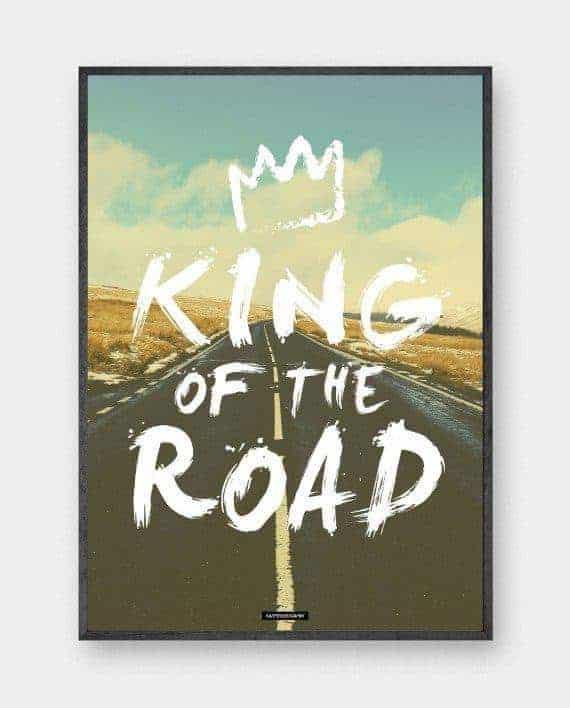 King Road plakat