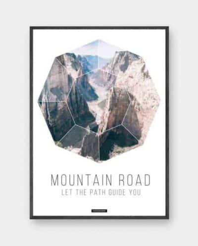 Mountain Road plakat