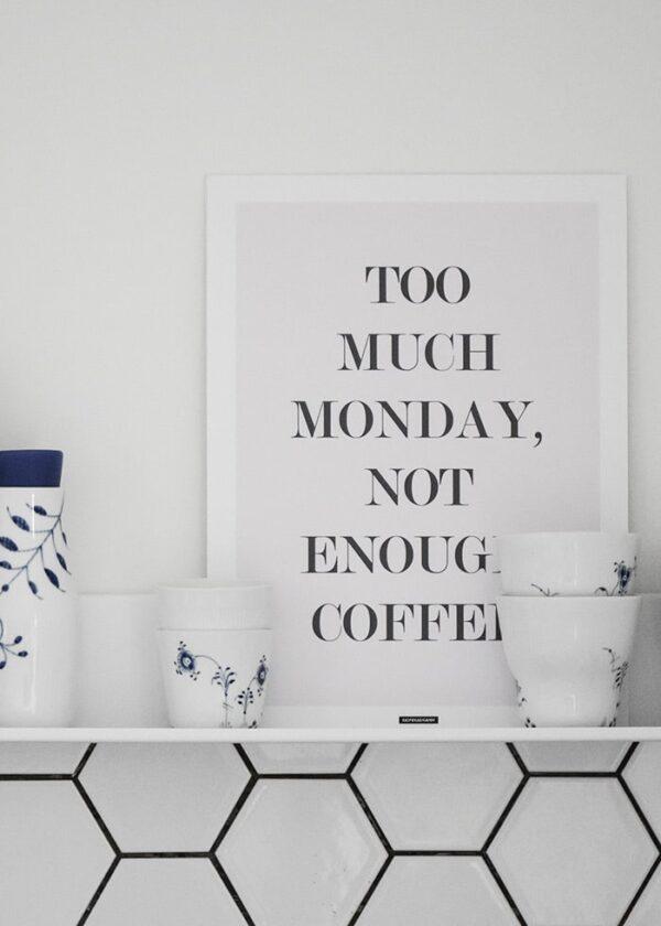 Not Enough Coffee produktbillede