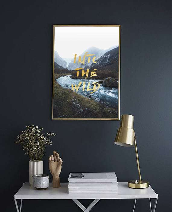 Into The Wild plakat