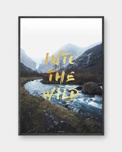 Produktbillede af plakaten Into The Wild