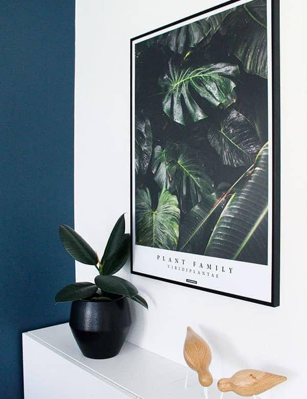 Grøn plante plakat viridi plantae plakat