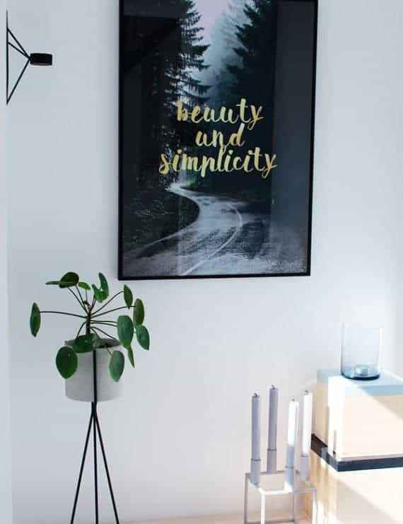 natur-tekst-simplicity-plakat