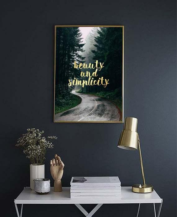 simplicity plakat