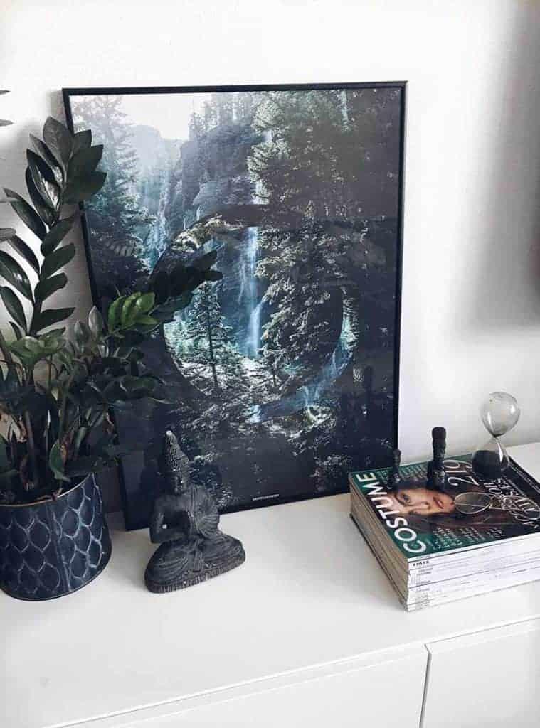 Fotokunst natur plakat - Serenity plakat