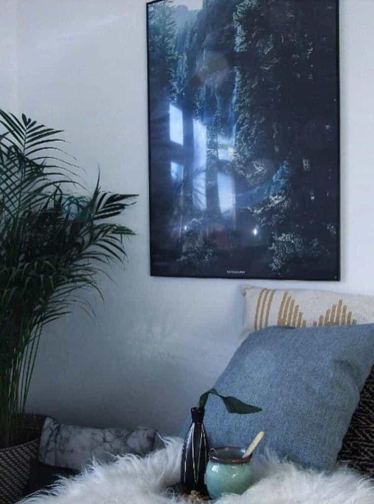 natur plakat i soveværelse - Serenity plakat