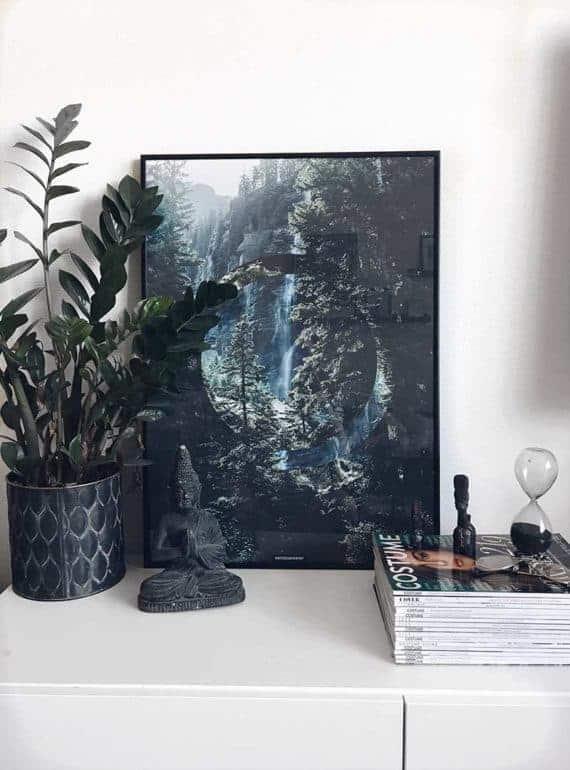 Natur fotokunst plakat - Serenity plakat