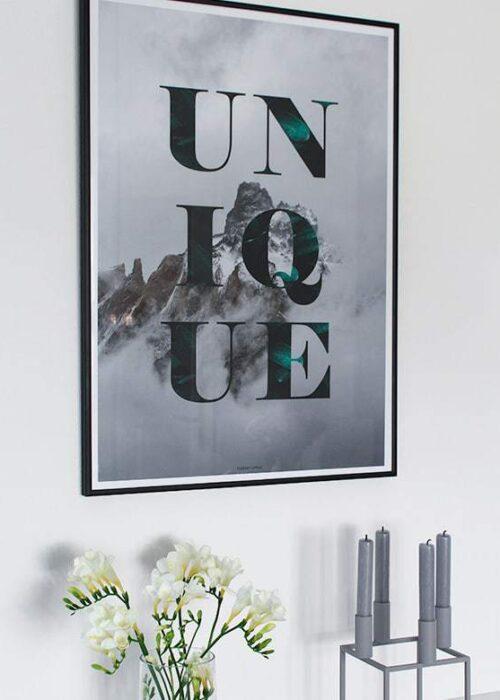 Unique plakat