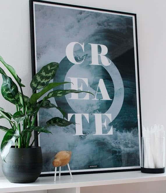 create-motiverende-tekst-natur-plakat