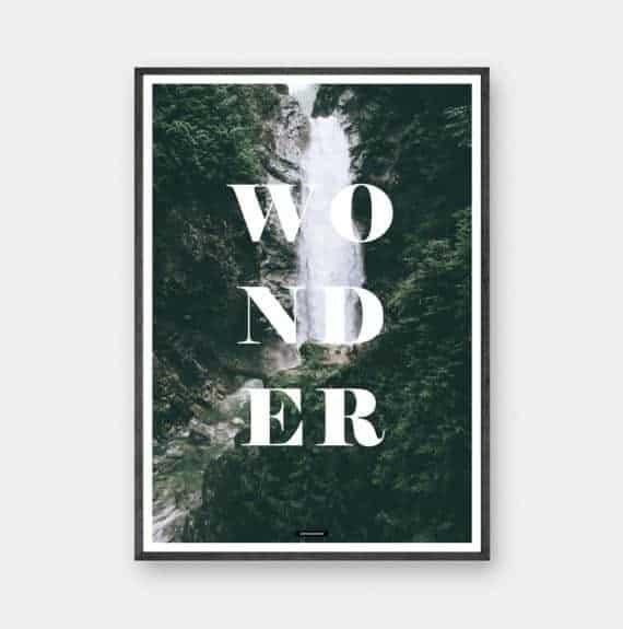wonder-natur-tekst-plakat