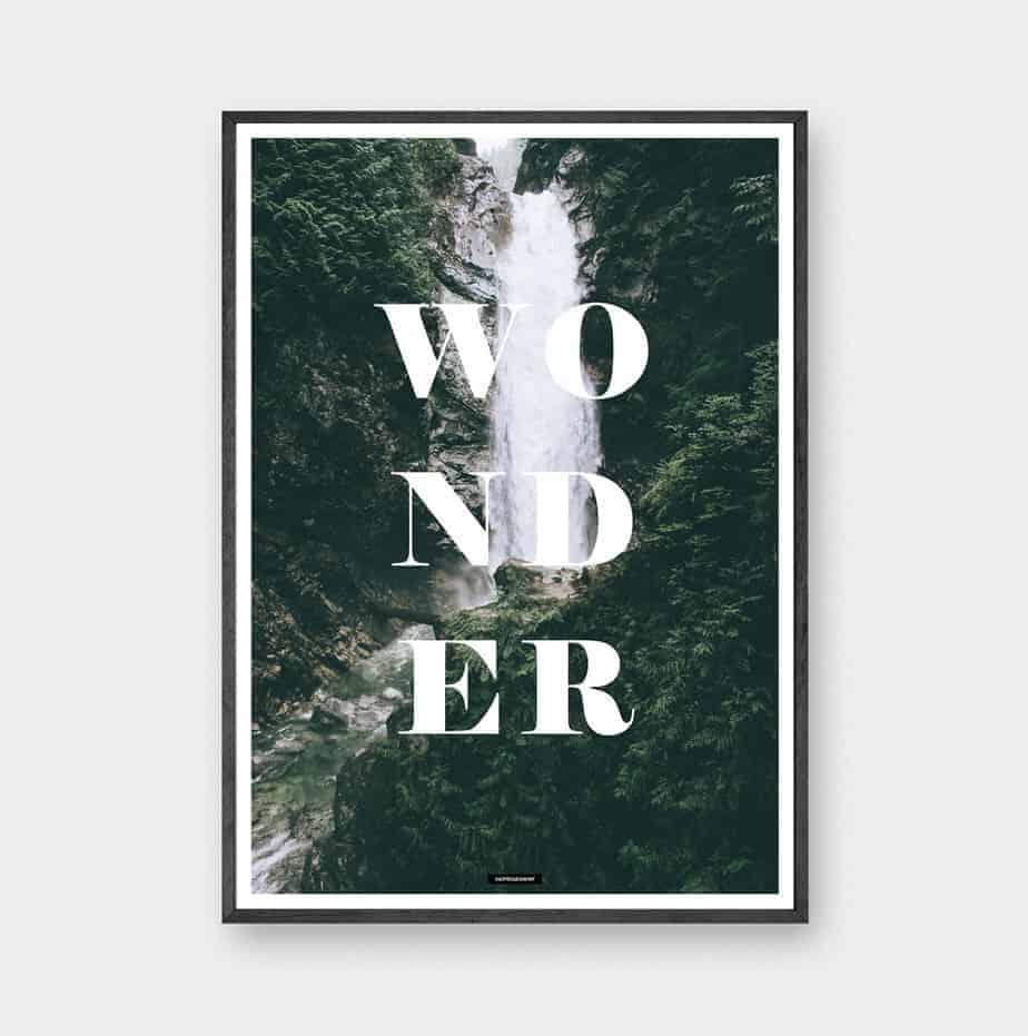 Wonder - Natur plakat