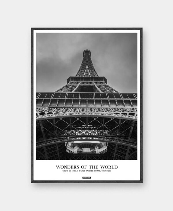 Paris plakat - Eiffel Tower