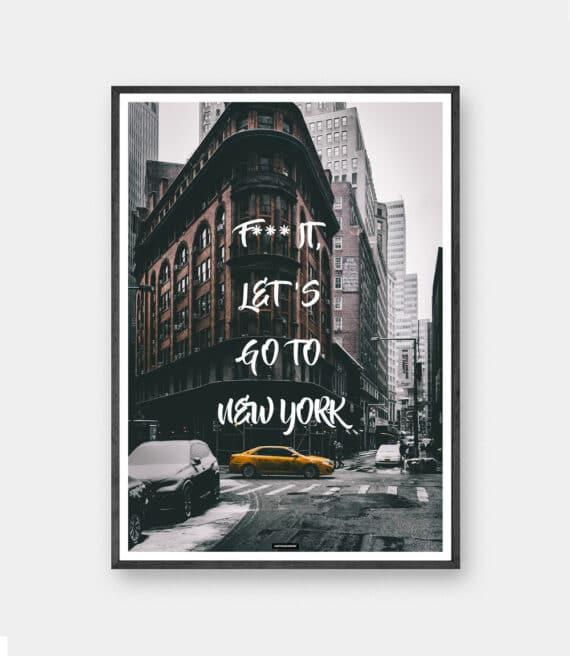 Go To New York plakat