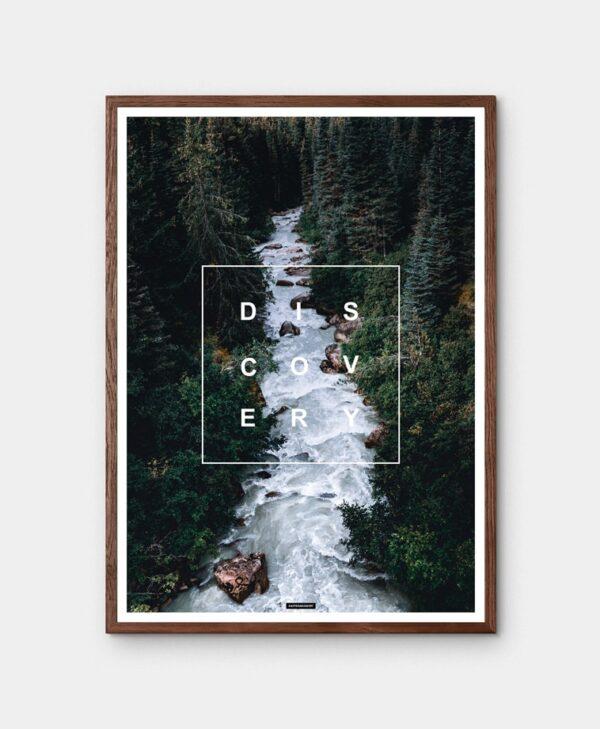 Discovery natur plakat