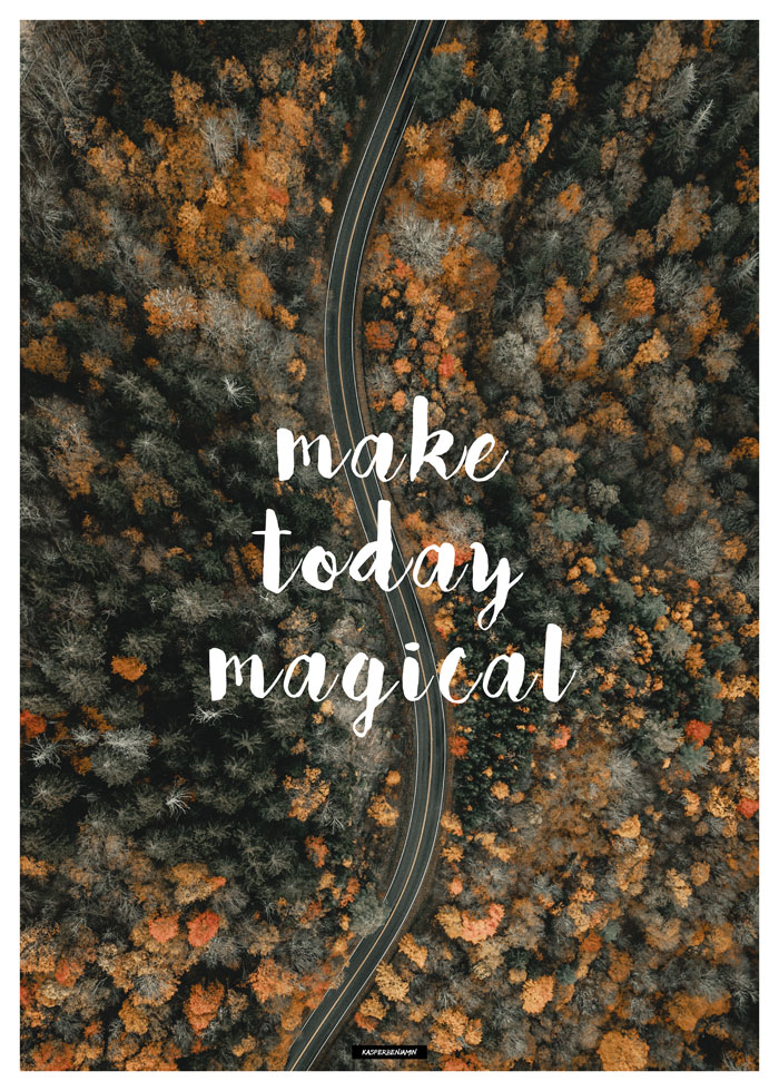 Make Today Magical produktbillede