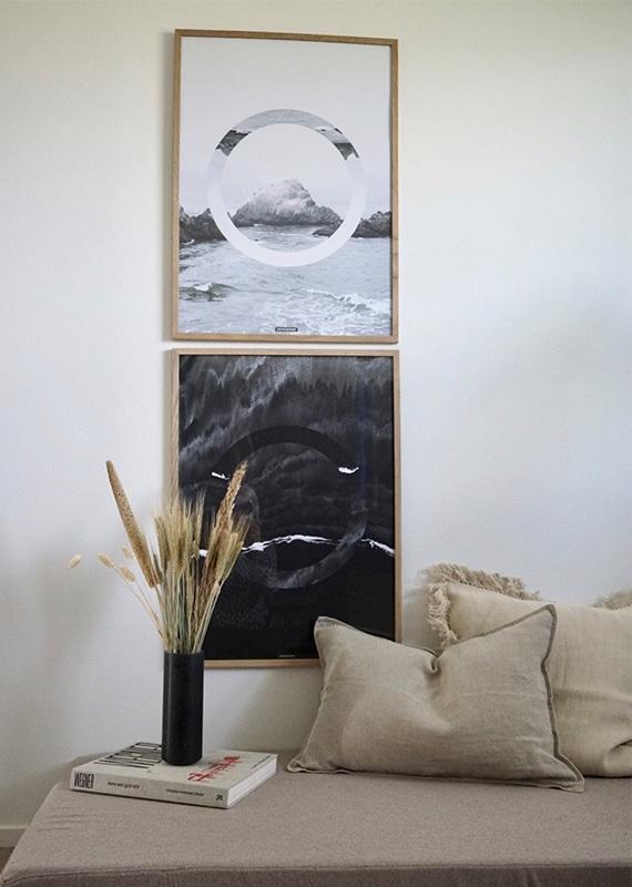 Plakatsæt - The Sea og The Beach natur plakatsæt