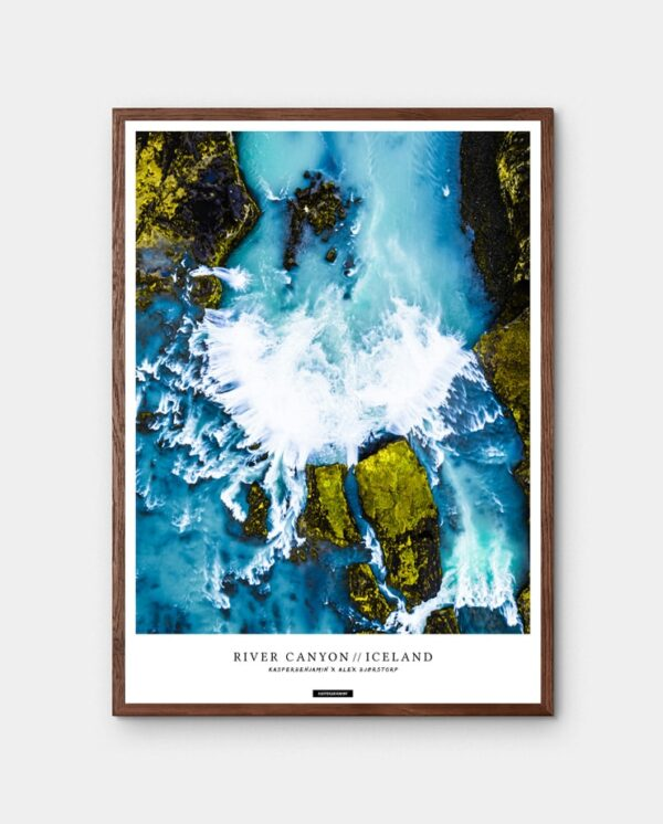 River Canyon plakat - Goðafoss vandfald