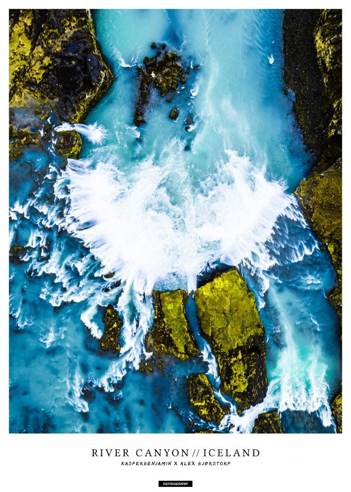 River Canyon produktbillede - Goðafoss vandfald