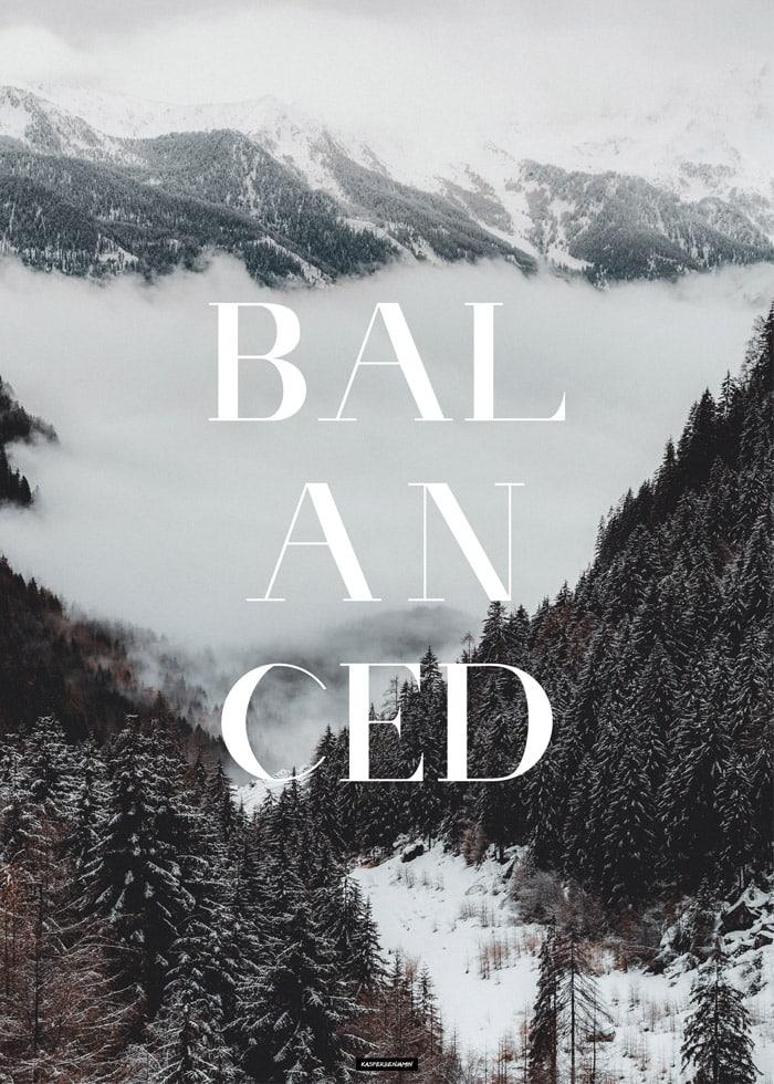 Balanced produktbillede