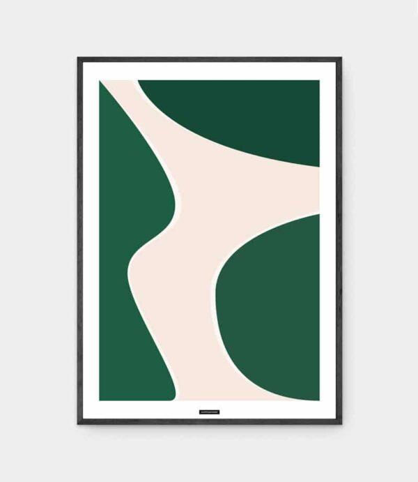 Green Shades No.1 plakat