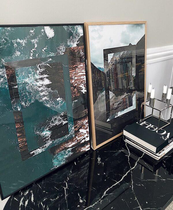 Reverse Nature & Ocean plakatsaet
