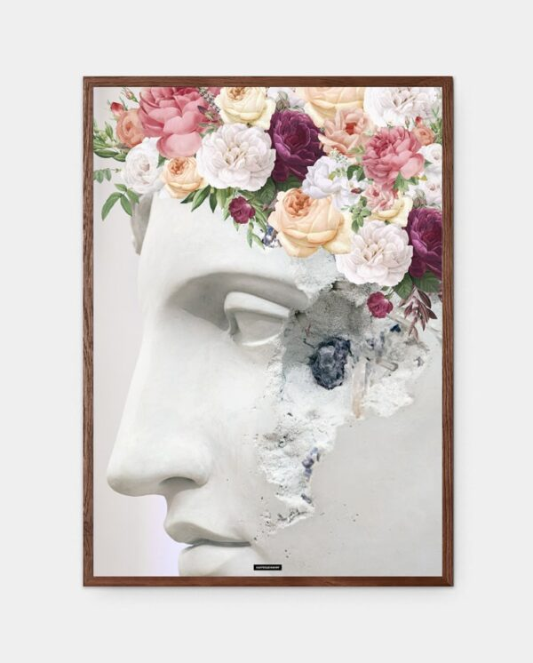 Flower Sculpture plakat