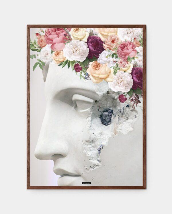 Flower Sculpture plakat