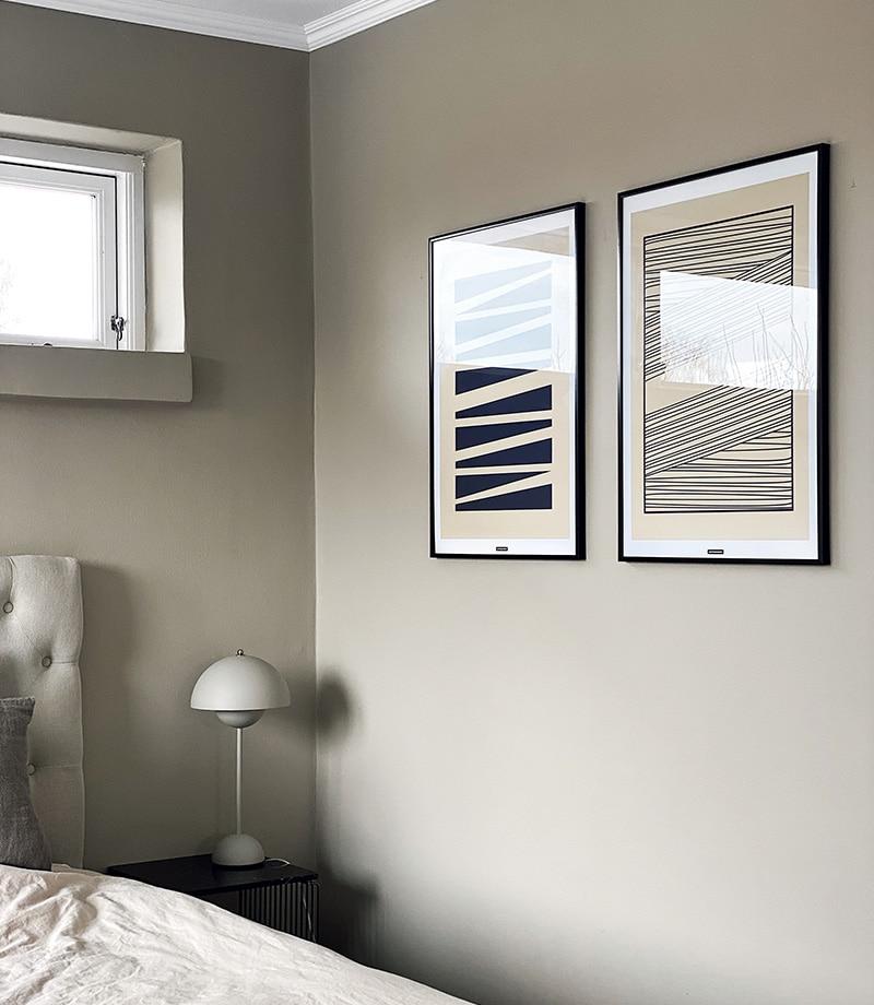 Abstrakt No.1 og 2 soveværelse