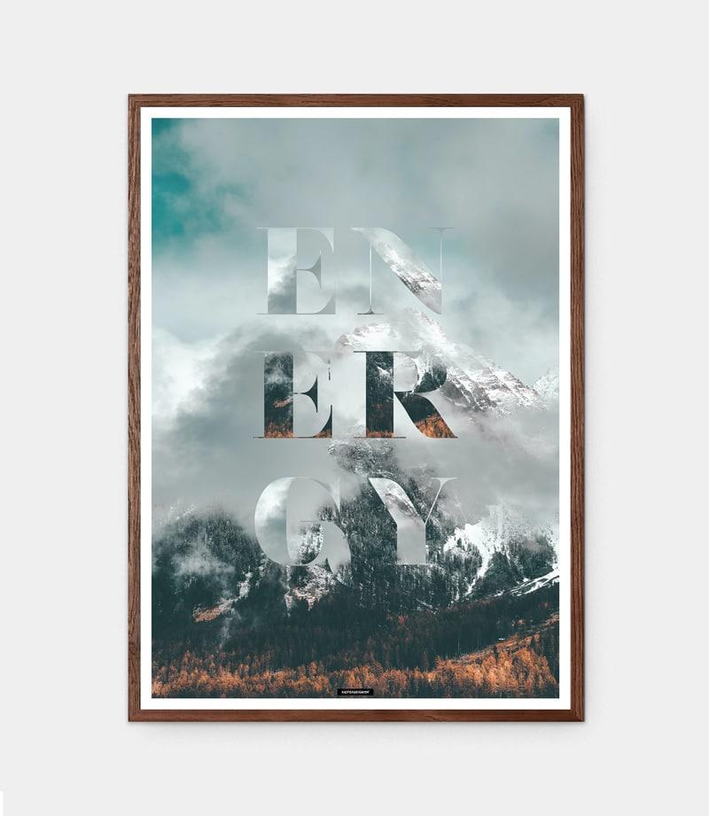 ENERGY plakat