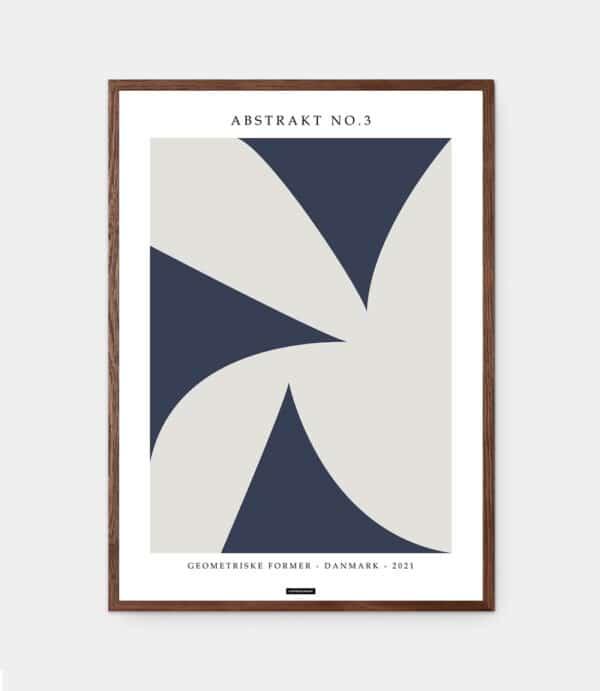 Abstrakt no3 plakat