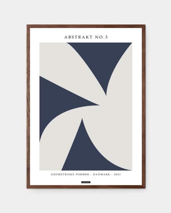 Abstrakt no3 plakat