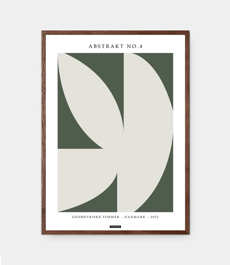 Abstrakt No.4 plakat
