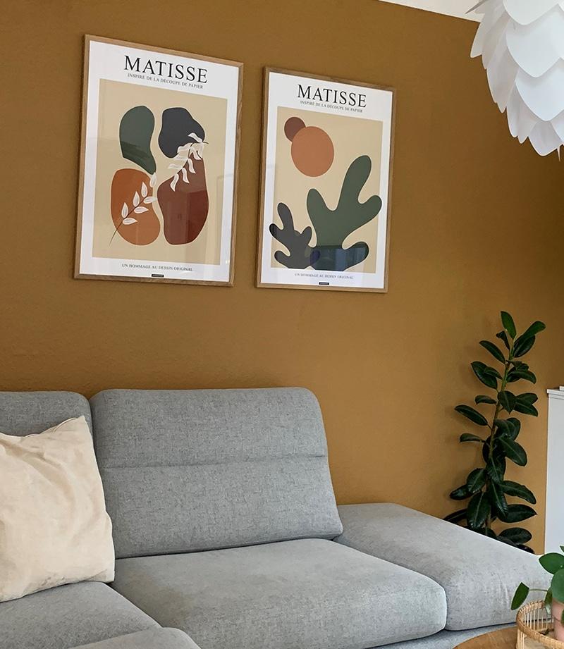 Matisse No.1 og No.2 plakater